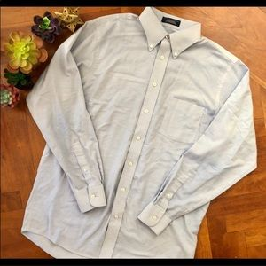 Stafford Button down shirt size 16 men's Oxford